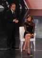Foto IPP/Gioia Botteghi 30/03/2011 Roma terza puntata di 150anni, nella foto: Bruno Vespa e Belen Rodriguez