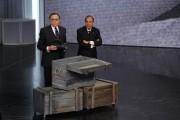 Foto IPP/Gioia Botteghi 30/03/2011 Roma terza puntata di 150anni, nella foto: Pippo Baudo, Bruno Vespa