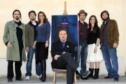 Foto/IPP/Gioia Botteghi Roma 7/04/2011 presentazione del film RASPUTIN, nella foto Franco Nero ed il cast