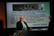 Foto IPP/Gioia Botteghi 10/04/2011 Roma Trasmissione in mezz'ora raitre Lucia Annunziata intervista Mario Borghezio