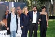 Foto IPP/Gioia Botteghi 18/04/2011 Roma Presentazione del film, NOTIZIE DEGLI SCAVI, nella foto Giuseppe Battiston e Ambra Angiolini, Iaia Forte, Giorgia Salari