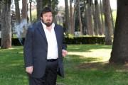 Foto IPP/Gioia Botteghi 18/04/2011 Roma Presentazione del film, NOTIZIE DEGLI SCAVI, nella foto Giuseppe Battiston