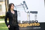 Foto IPP/Gioia Botteghi 21/04/2011 Roma Presentazione del film, IL SESSO AGGIUNTO, nella foto: VALENTINA D'AGOSTINO
