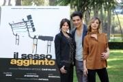Foto IPP/Gioia Botteghi 21/04/2011 Roma Presentazione del film, IL SESSO AGGIUNTO, nella foto:GIUSEPPE ZENO, VALENTINA D'AGOSTINO, MYRIAM CATANIA