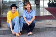 Foto IPP/Gioia Botteghi 28/04/2011 Roma Presentazione del film Angelè e Tony, nella foto la regista Alix Delaporte e Clotilde Hesme