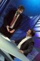 """Foto IPP/Gioia Botteghi 30/04/2011 Roma Nanni Moretti ospite della trasmissione de la7 """"in onda"""" nella foto con Luca Telese"""