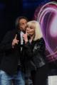 Foto IPP/Gioia Botteghi 14/05/2011 Roma, Eurosong rai due, nella foto: Raffaella Carrà con Bob Sinclar