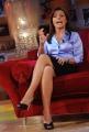 """Foto IPP/Gioia Botteghi 4/05/2011 Roma, A """"Parla con me"""" l'ospite di Serena Dandini è la giornalista di Al Jazeera Barbara Serra, conduttrice del programma di Gregorio Paolini """"Cosmo""""."""