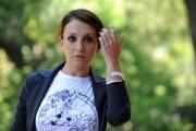 Foto IPP/Gioia Botteghi 10/05/2011 Roma,  presentazione della fiction di canale 5 I LICEALI, nella Foto Lucia Ocone