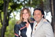 Foto IPP/Gioia Botteghi 12/05/2011 Roma,  presentazione della fiction di canale 5 Fratelli Detective, nella foto: Serena Autieri, Enrico Brignano