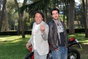 Foto IPP/Gioia Botteghi 12/05/2011 Roma,  presentazione della fiction di canale 5 Fratelli Detective, nella foto: Enrico Brignano, Luca Angeletti