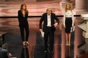 Foto IPP/Gioia Botteghi 18/05/2011 Roma, prima puntata di Ci tocca anche Vittorio Sgarbi rai uno , nella foto:  Monica Marangoni e Metis Di Meo