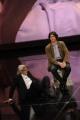 Foto IPP/Gioia Botteghi 18/05/2011 Roma, prima puntata di Ci tocca anche Vittorio Sgarbi rai uno , nella foto: Sgarbi con il figlio Carlo Brenner