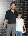 foto/IPP/Gioia Botteghi 25/05/2011 Roma, presentazione del corto: The wholly family, nella foto:   il piccolo Nicolas Connolly e Douglas Dean