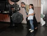 foto/IPP/Gioia Botteghi 25/05/2011 Roma, presentazione del corto: The wholly family, nella foto:  il regista Terry Gilliam il piccolo Nicolas Connolly