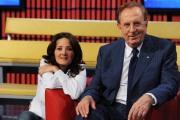foto/IPP/Gioia Botteghi 05/06/2011 Roma, Pronto Elisir, Michele Mirabella e Rosanna Sferrazza
