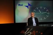 foto/IPP/Gioia Botteghi 12/06/2011 Roma, Trasmissione rai tre IN MEZZ'ORA, ospite di Lucia Annunziata Enrico Mentana