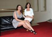 foto/IPP/Gioia Botteghi 16/06/2011 Roma, presentazione di MISS ITALIA NEL MONDO, nella foto:  Patrizia Mirigliani ed Elisa Isoardi
