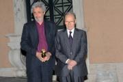 foto/IPP/Gioia Botteghi 1/07/2011 Roma, Globi D'oro, Ennio Morricone e Nicola Piovani