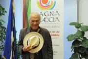 foto/IPP/Gioia Botteghi 19/07/2011 Roma, conferenza stampa di Magnagrecia film festival, il direttore artistico Giorgio Albertazzi