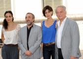 foto/IPP/Gioia Botteghi 07/08/2011 Roma, Primo Ciak della fiction IL DELITTO DI VIA POMA, canale 5, nella foto: ASTRID MELONI, SILVIO ORLANDO, GIULIA BEVILACQUA, GIORGIO COLANGELI