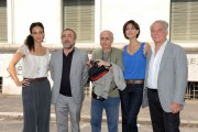 foto/IPP/Gioia Botteghi 07/08/2011 Roma, Primo Ciak della fiction IL DELITTO DI VIA POMA, canale 5, nella foto: ASTRID MELONI, SILVIO ORLANDO, GIULIA BEVILACQUA, GIORGIO COLANGELI, ed il regista ROBERTO FAENZA