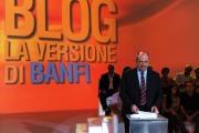 foto/IPP/Gioia Botteghi 15/09/2011 Roma, prima puntata del programma di rete4 La versione di Banfi, nella foto Alessandro Banfi il conduttore