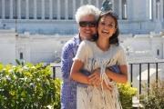 foto/IPP/Gioia Botteghi 21/09/2011 Roma, Piazza Venezia, presentazione del film LA PELLE CHE ABITO, nella foto  Elena Anaya, Pedro Almodovar