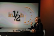 foto/IPP/Gioia Botteghi 25/09/2011 Roma, trasmissione IN MEZZ'ORA nella foto Lucia Annunziata