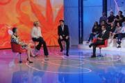 foto/IPP/Gioia Botteghi 9/10/2011 Roma, Prima puntata di Domenica in, nella foto l'ospite fisso Pierluigi Diaco, Irene Pivetti Lorella Cuccarini e Pierfrancesco Favino