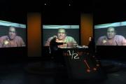 foto/IPP/Gioia Botteghi 23/10/2011 Roma, Marco Pannella ospite della trasmissione di Lucia Annunziata, in mezz'ora, raitre