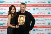 Foto/IPP/Gioia Botteghi Roma 27/10/2011 festival del cinema di Roma,The Lady, nella foto: Luc Besson con MichelleYeoh
