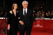 Foto/IPP/Gioia Botteghi Roma 27/10/2011 festival del cinema di Roma, red carpet, Michele Placido con la compagna Federica