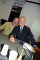 foto/IPP/Gioia Botteghi 31/10/2011 Roma, Presentazione della nuova trasmissione di Michele Santoro SERVIZIO PUBBLICO, nella foto con Vauro Senesi