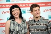 Foto/IPP/Gioia Botteghi Roma 3 02/11/2011 festival del cinema di Roma,Photocall del film La Kryptonite nella borsa, nella foto Vincenzo Nemolato e Monica Nappo