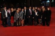 Foto/IPP/Gioia Botteghi 02/11/2011 festival del cinema di Roma, red carpet 148 Stefano, nella foto La famiglia Cucchi con Marco Travaglio ed altre famiglie che hanno avuto i figli con la stessa storia