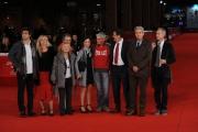 Foto/IPP/Gioia Botteghi 02/11/2011 festival del cinema di Roma, red carpet 148 Stefano, nella foto La famiglia Cucchi con Marco Travaglio