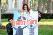 foto/IPP/Gioia Botteghi 03/11/2011 Roma, Presentazione del film I SOLITI IDIOTI, nella foto: Fabrizio Biggio e Francesco Mandelli, Madalina Ghenea