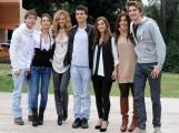 foto/IPP/Gioia Botteghi 05/11/2011 Roma, Presentazione della fiction TUTTI PAZZI PER AMORE 3, nella foto: cast dei ragazzi