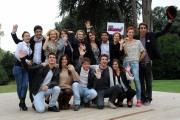 foto/IPP/Gioia Botteghi 05/11/2011 Roma, Presentazione della fiction TUTTI PAZZI PER AMORE 3, nella foto: cast con la regista Laura Muscardin