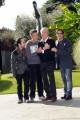 foto/IPP/Gioia Botteghi 08/11/2011 Roma, Presentazione del programma di raiuno, ILPIUGRANDESPETTACOLODOPOILWEEKEND, NELLA FOTO ROSARIO FIORELLO CON: Ernico Cremonesi, Marco Baldini e lo scenografo Enrico Castelli
