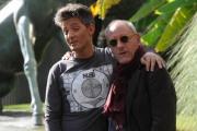 foto/IPP/Gioia Botteghi 08/11/2011 Roma, Presentazione del programma di raiuno, ILPIUGRANDESPETTACOLODOPOILWEEKEND, NELLA FOTO ROSARIO FIORELLO, con lui l'ideatore del programma Giampiero Solari