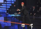 foto/IPP/Gioia Botteghi 14/11/2011 Roma, Prima puntata del programma di raiuno, ILPIUGRANDESPETTACOLODOPOILWEEKEND, NELLA FOTO Novak Djokovic
