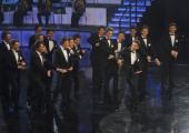 foto/IPP/Gioia Botteghi 14/11/2011 Roma, Prima puntata del programma di raiuno, ILPIUGRANDESPETTACOLODOPOILWEEKEND, NELLA FOTO ROSARIO FIORELLO