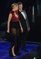 foto/IPP/Gioia Botteghi 14/11/2011 Roma, Prima puntata del programma di raiuno, ILPIUGRANDESPETTACOLODOPOILWEEKEND, NELLA FOTO ROSARIO FIORELLO con Eva Riccobono