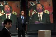 foto/IPP/Gioia Botteghi 12/11/2011 Roma, puntata speciale di Ballarò raitre, nella foto Giovanni Floris