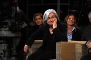 foto/IPP/Gioia Botteghi 12/11/2011 Roma, puntata speciale di Ballarò raitre, nella foto Rosy Bindi