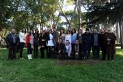 foto/IPP/Gioia Botteghi 14/11/2011 Roma, Presentazione della serie tv Baciati dall'amore, nella foto Gaia Bermani Amaral con Giampaolo Morelli ed il cast