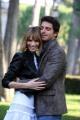 foto/IPP/Gioia Botteghi 14/11/2011 Roma, Presentazione della serie tv Baciati dall'amore, nella foto Gaia Bermani Amaral co Giampaolo Morelli