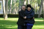foto/IPP/Gioia Botteghi 14/11/2011 Roma, Presentazione della serie tv Baciati dall'amore, nella foto Marisa Laurito e Lello Arena
